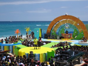 BET Spring Bling Stage