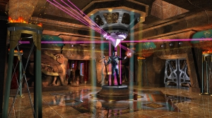 Raleigh Design hired AST to create this concept art for a proposed magic themed restaurant.