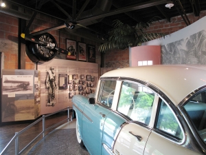 Nestled comfortably amongst the other displays in the Naples Depot Museum you will find the Collier County Airfield Exhibit.