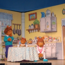 Arthur's Family in the Kitchen.
