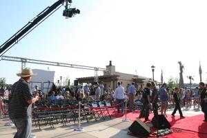 Several press events and high profile gatherings were coordinated by AST for the Hard Rock Park grand opening.