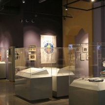 St. Thomas University hired AST Exhibits to develop a portion of their library into a museum that celebrated the 50th Anniversary of the Archdiocese of Miami.