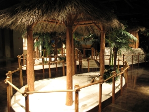 Nowadays a hut must be built by a member of the Seminole tribe to be called Chickee. Otherwise it is a Tiki Hut.