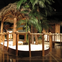 AST Exhibits created this life size Calusa village for the Marco Island History Museum.