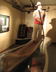 Dugout canoes were the primary means of transportation for the Seminole because of the extensive network of waterways in the area.