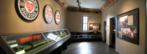 This room, once a place of segregation, now highlights the contributions of African-Americans to the railroads of South Florida.