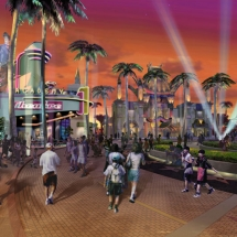 AST created this rendering so that lighting designers could identify specific lighting requirements for the project.