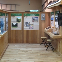 AST Exhibits breathed new life into the visitor's center by showcasing sustainability efforts of the citrus growers.
