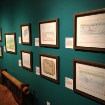 Conservation framing for original artwork by Rob Storter installed at the Mennello Museum in Orlando